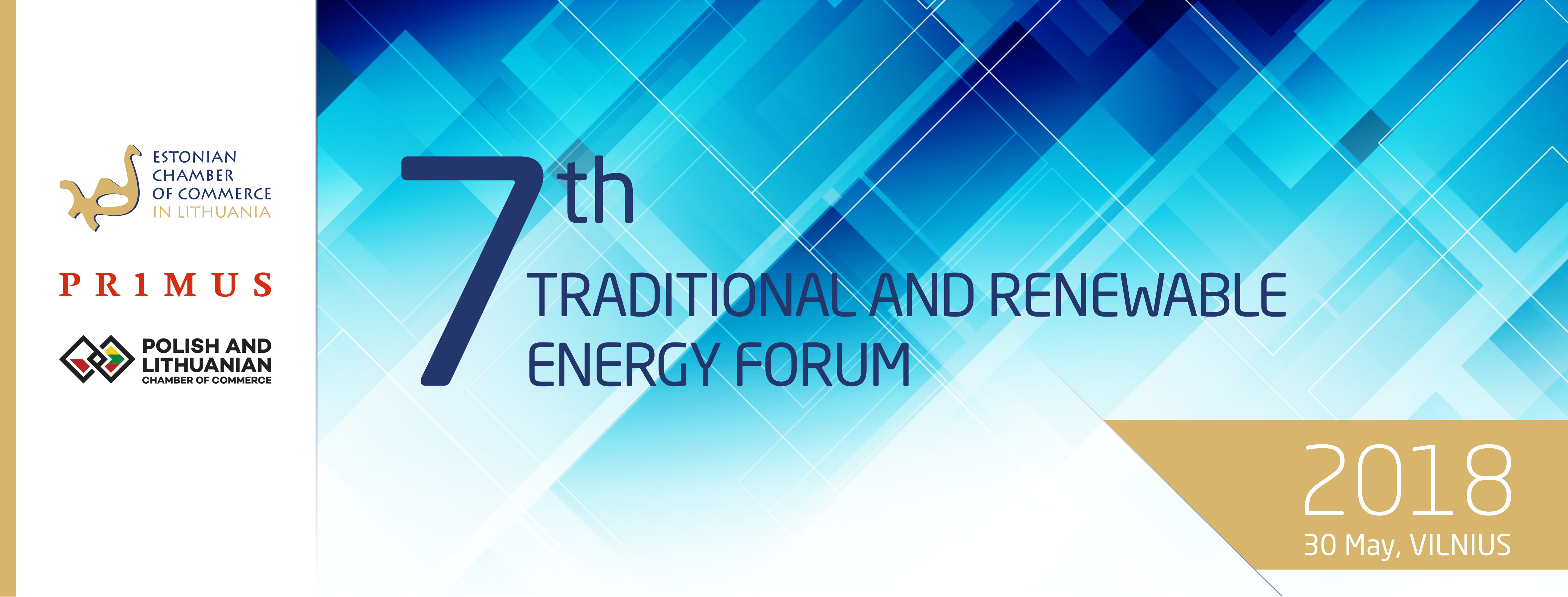 SAVE THE DATE - 7th Traditional and Renewable Energy Forum 2018